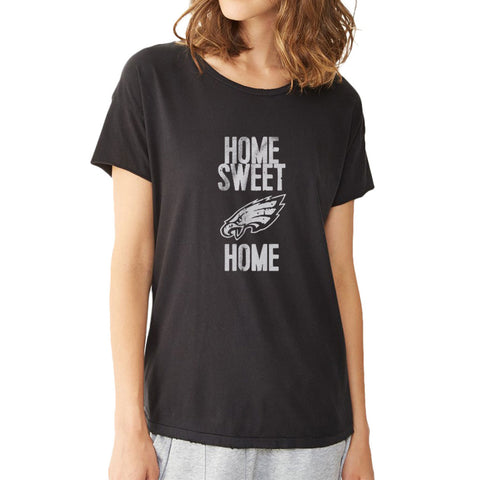 Eagles Home Sweet Home Women'S T Shirt
