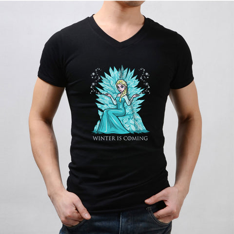 Elsa Disney Game Of Thrones Men'S V Neck