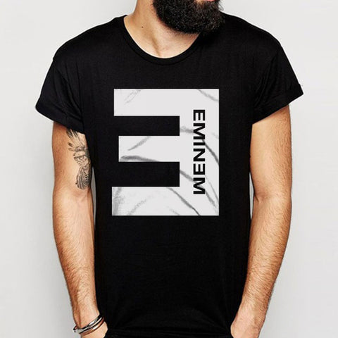 Eminem Rap Singer Logo Men'S T Shirt