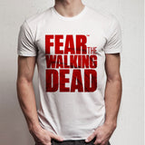 Fear The Walking Dead Logo Men'S T Shirt