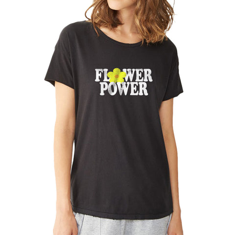 Flower Power Hippie Women'S T Shirt