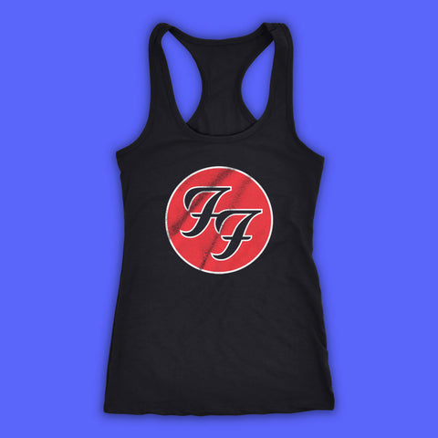 Foo Fighter Dave Grohl Rock Band Women'S Tank Top Racerback