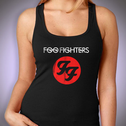 Foo Fighters Hard Rock And Roll Band Women'S Tank Top