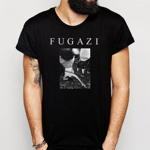 Fugazi Waiting Room Dc Hardcore Vegetarian Men'S T Shirt