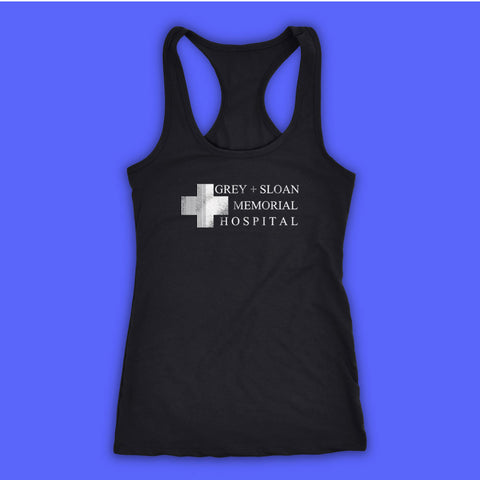 Grey Sloan Memorial Hospital Women'S Tank Top Racerback
