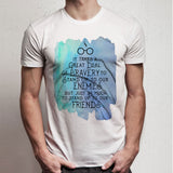 Harry Potter Watercolor Quote Men'S T Shirt