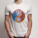 Iron Man Captain America Steve 'N' Stark Men'S T Shirt