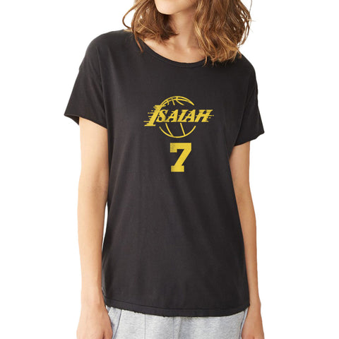 Isaiah Thomas Los Angeles Lakers Women'S T Shirt
