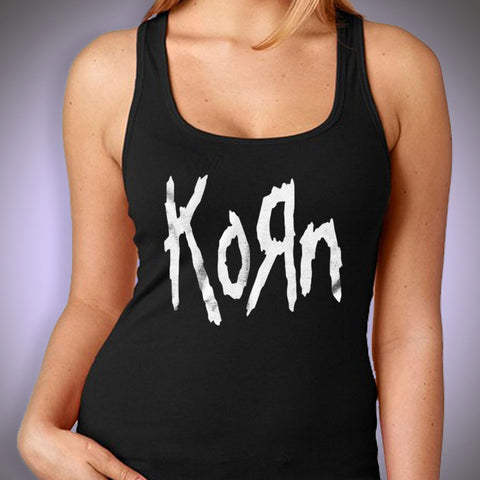Korn Metal Rock Music Logo Women'S Tank Top