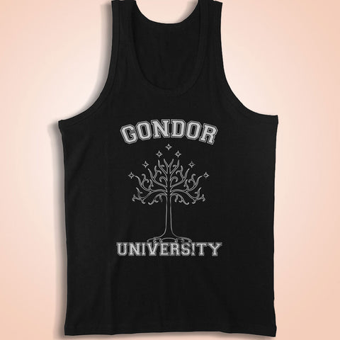Lord Of The Rings Hobbit Gondor University Men'S Tank Top