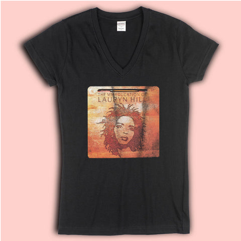 Lauryn Hill The Miseducation Of Lauryn Hill Fugees Women'S V Neck