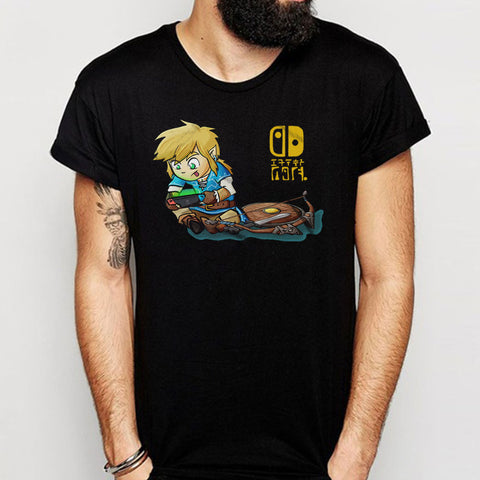 Legend Of Zelda Shirt Breath Of The Wild Nintendo Switch Link Video Gaming Cute Link Men'S T Shirt