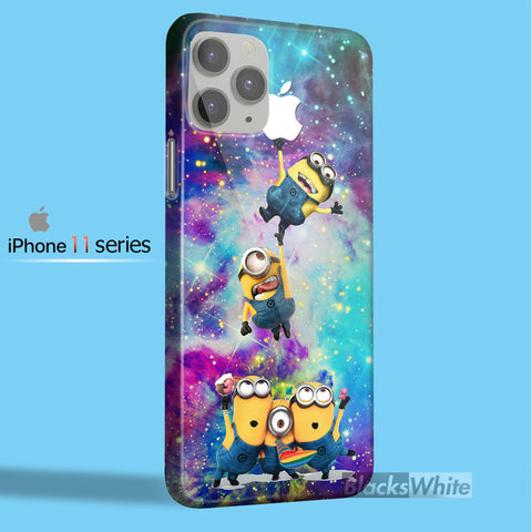 MINIONS APPLE GALAXY   iPhone 11 Case
