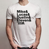 Mike Lucas Dustin Eleven Will Fan Men'S T Shirt