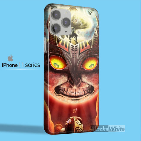 Moon fall majora mask zelda   iPhone 11 Case
