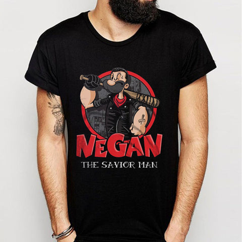Negan Major Popeye Negan The Savior Man Men'S T Shirt