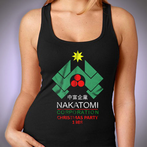 Nakatomi Corporation Christmas Party Women'S Tank Top