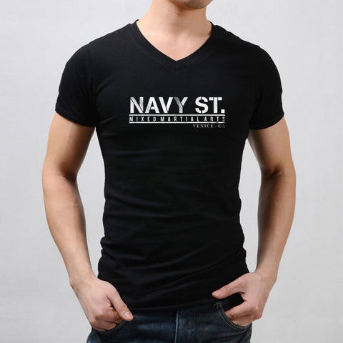 Navy Street Official Mma Men'S V Neck
