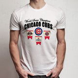 New 2016 World Series Champions Chicago Cubs Graphic Men'S T Shirt