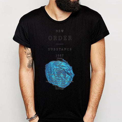 New Order Substance 1987 All The Air In My Lungs Men'S T Shirt