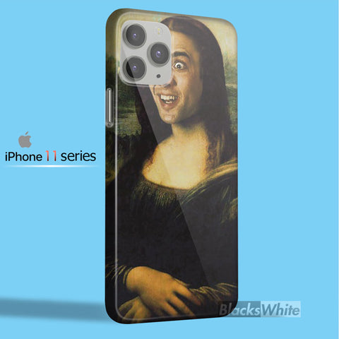 Nicolas Cage Mona Lisa TV00  iPhone 11 Case