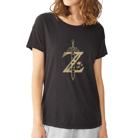 Nintendo Legend Of Zelda Breath Of The Wild Zelda Women'S T Shirt