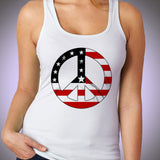 Peace Sign T Shirt Women'S Tank Top