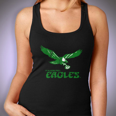 Philadelphia Eagles Nfl Club Logo Women'S Tank Top