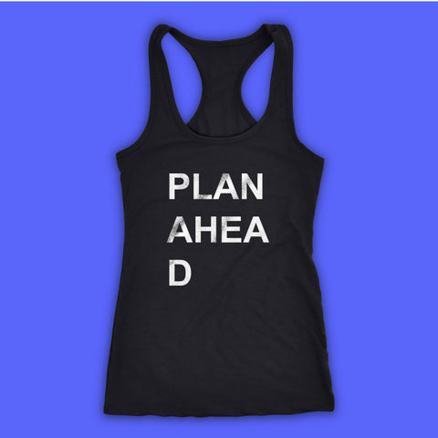 Plan A Head Women'S Tank Top Racerback