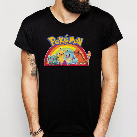 Pokemon Anime Gamer Pokemon Birthday Men'S T Shirt