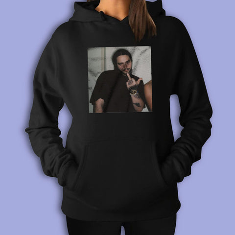 Post Malone Middle Finger Women'S Hoodie