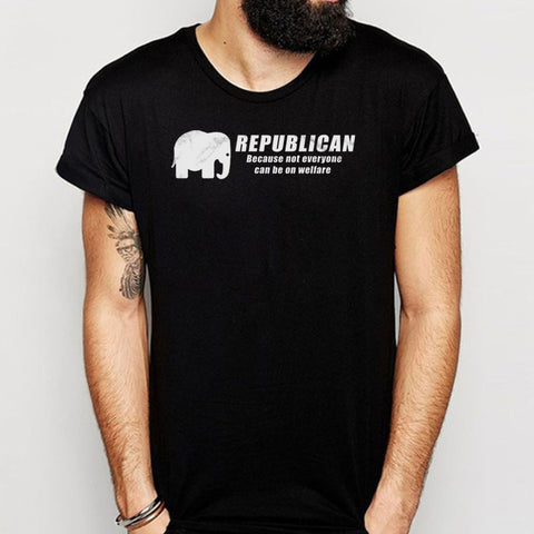 Republican  Political Gop George Bush Ronald Reagan Right Wing Men'S T Shirt