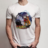 Rick And Morty Versus Back To The Future Men'S T Shirt
