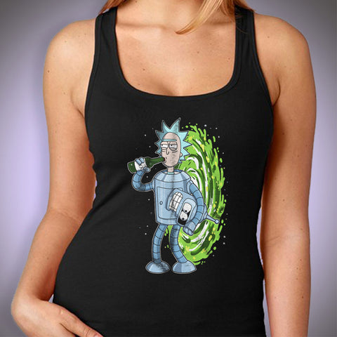 Rick And Morty Bender Rick Women'S Tank Top