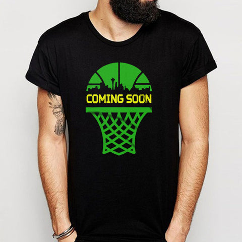 Seattle Sonics Coming Soon Men'S T Shirt