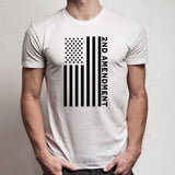 Second 2Nd Amendment American Flag Men'S T Shirt