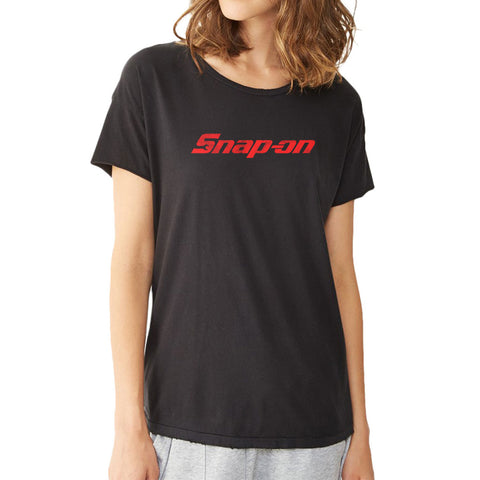 Snap On Tools Mechanics Auto Parts Professional Wrenches Racing Nascar Women'S T Shirt