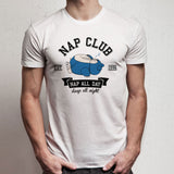 Snorlax Nap Club Gotta Catch Em All Ash Misty Team Rocket Men'S T Shirt