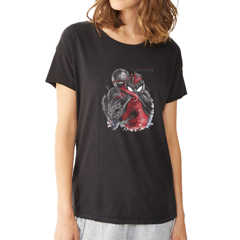 Spiderman Venom Queens Of The Stone Age Women'S T Shirt