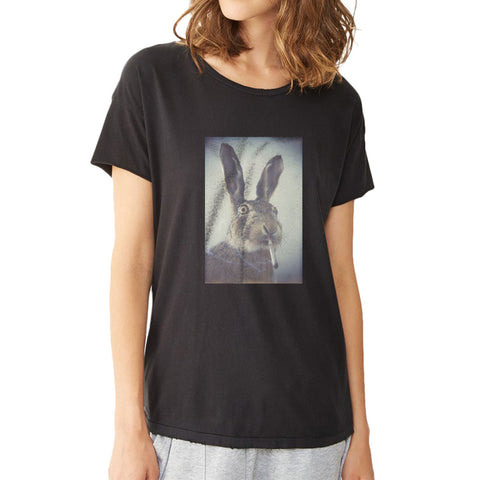Stoner Rabbit Joint Blunt Bong Weed Dope Women'S T Shirt