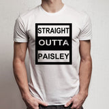 Straight Outta Paisley Men'S T Shirt