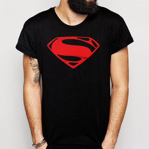 Superhero Man Superman Logo Men'S T Shirt