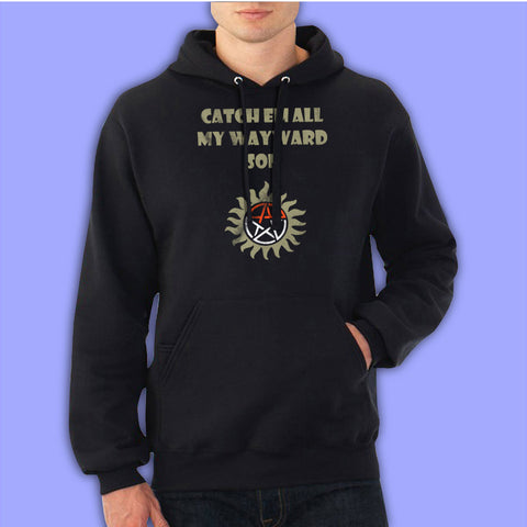 Supernatural Pokemon Catch Em All My Wayward Son Men'S Hoodie