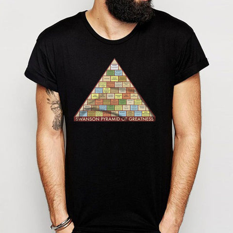 Swanson Pyramid Of Greatness Men'S T Shirt