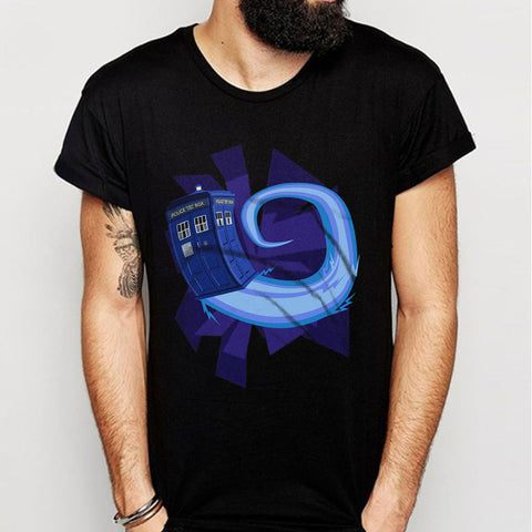 Tardis Doctor Who Men'S T Shirt