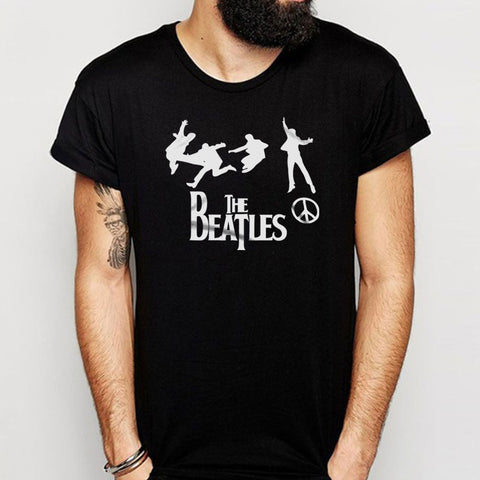 The Beatles Band Peace Men'S T Shirt