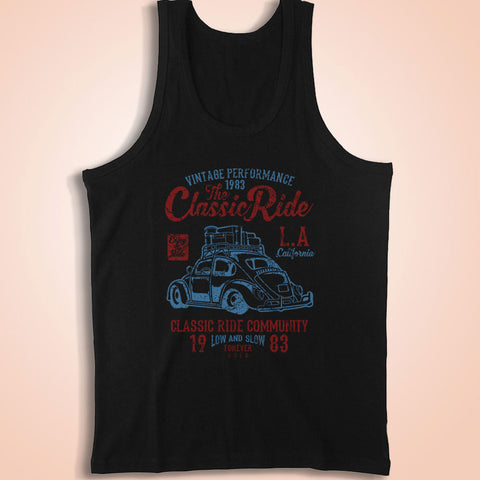The Classic Ride Vw Bug Men'S Tank Top