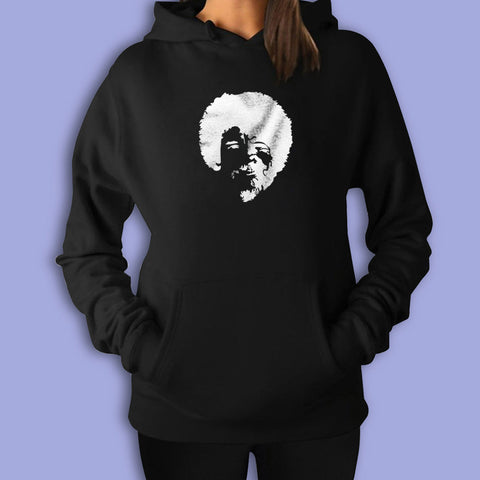 The Joy Of Painting Bob Ross 70S Afro Women'S Hoodie