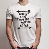 The Walking Dead Daryl Dixon Zombie Walker Twd Fan Arrow Men'S T Shirt