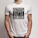 The Walking Dead Straight Outta Easy Street Negan Quote Men'S T Shirt